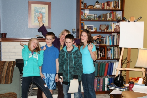 The 1st Rain Shadow Reiki Teen Class!!!  4-13-13, photo by Gigi Christensen please link if used.