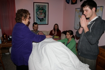 Reiki Circle January 11, 2014, photo by Josslyn Streett, please link if used.