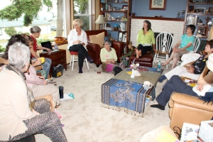 Peninsula Healers Circle is currently meeting in the homes of the members.  This month the meeting was at my home in Sequim, WA.