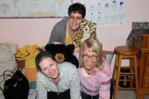 We like to have fun at our Reiki classes!