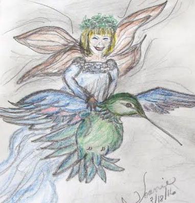FairyHummingbird -JoanieSchmoll3-18-16
